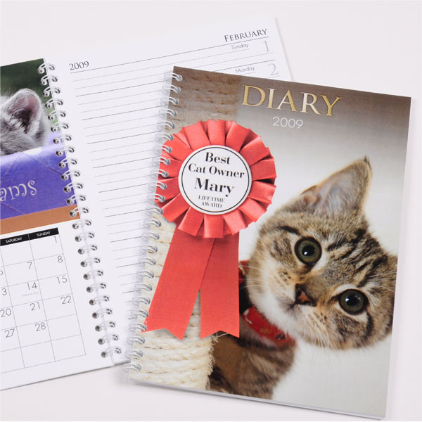 personalised Cat Diary product image