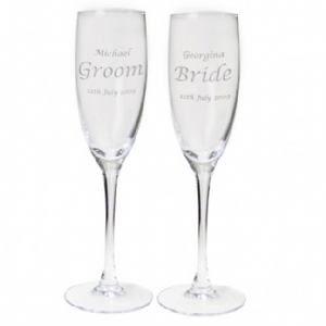 Celebration Champagne Flutes