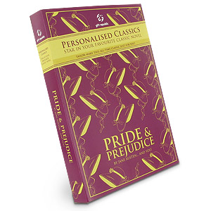 personalised Classic Pride and Prejudice Novel product image