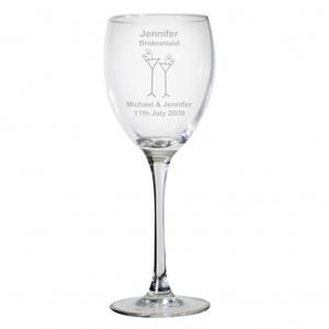 Personalised Designer Wine Glass-Flutes