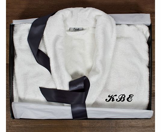 Luxury Egyptian Cotton Bathrobe