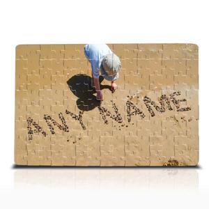 Personalised Pebbles In Sand Jigsaw product image