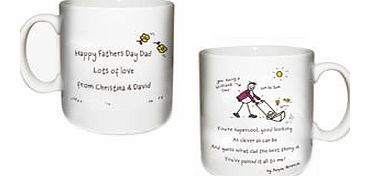 personalised Purple Ronnie Brilliant Dad Mug product image