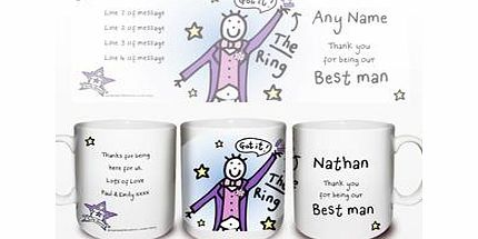 Wedding Gift List Comparison : ... ronnie wedding best man mug personalised beach wedding shot glass blue