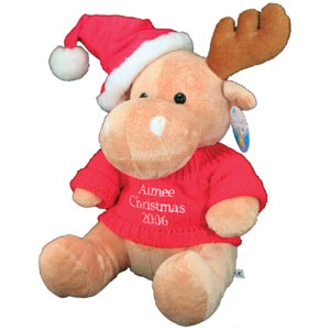 Teddy Bear Gift on Personalised Rudolph Teddy Bear Christmas Gift   Review  Compare