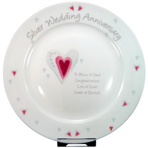 ... Silver Wedding Anniversary Platereview, compare prices, buy online