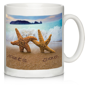 Starfish Couple Mug