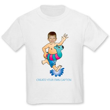 Personalised T-Shirts Personalised Running to the Sea T-Shirt product image