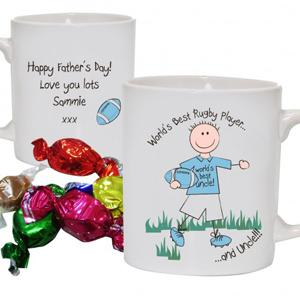 Personalised Worlds Best Rugby Player Mug product image