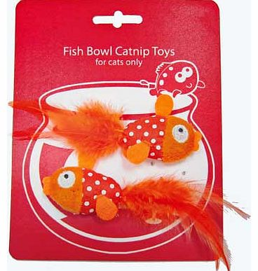 Pet Brands Goldfish Catnip Toy