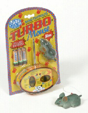 Turbo Radio Controlled Mouse Cat Toy