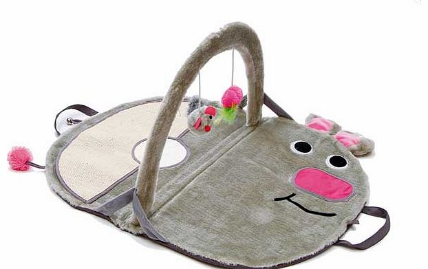 Pet Brands Mousey Mouse Cat Playground