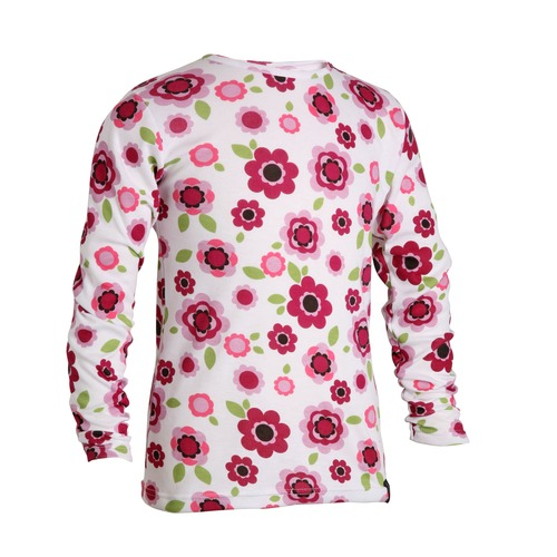 When your little girl is heading for the ski slopes or if youd just like a snug extra layer for her on cold days at home, this thermal base layer top is the perfect garment. Made in polyester and viscose to trap warmth and still allow her body to bre - CLICK FOR MORE INFORMATION
