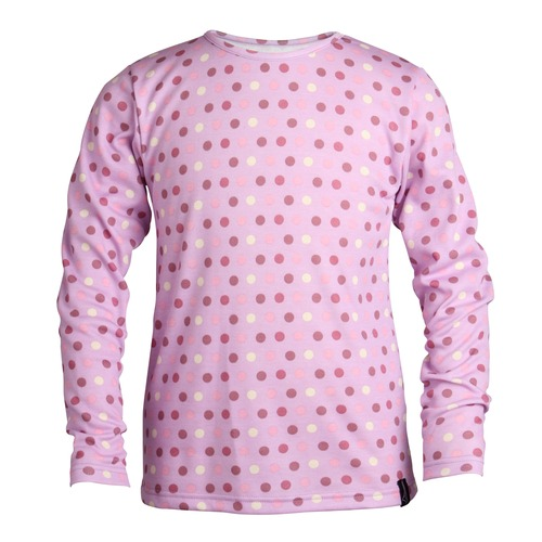 If youre taking the kids to the ski slopes or just like them to have a snug extra layer on cold days at home, youll like this thermal base layer top. Made in polyester and viscose to trap warmth and still allow the body to breathe, it is soft to the  - CLICK FOR MORE INFORMATION