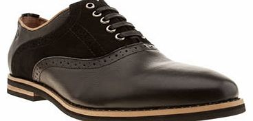 mens peter werth black nesbitt saddle shoes