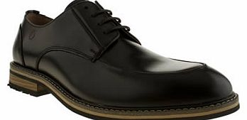 mens peter werth black turnmill apron shoes