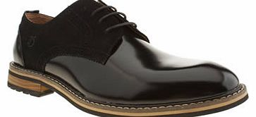 mens peter werth black turnmill derby shoes