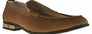 mens peter werth brown hawkins loafer shoes