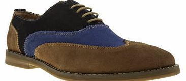mens peter werth multi nesbitt wing oxford