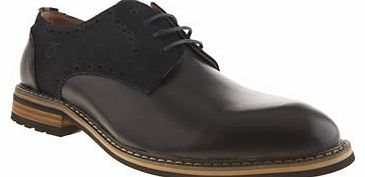 mens peter werth navy turnmill derby shoes
