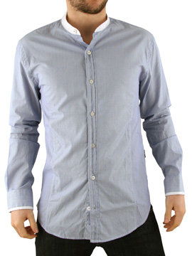 Peter Werth White Grandad Shirt product image