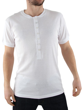 Peter Werth White Grandad T-Shirt product image