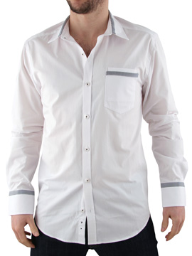 Peter Werth White Trim Shirt product image