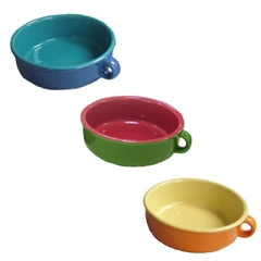 Blue Ceramic Puppy Bowl by Pets at Home