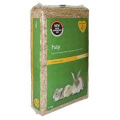 Medium Compressed Hay Bedding by Pets at Home