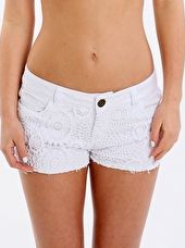 Phax, 1295[^]272842 Essential Lace Front Short - White