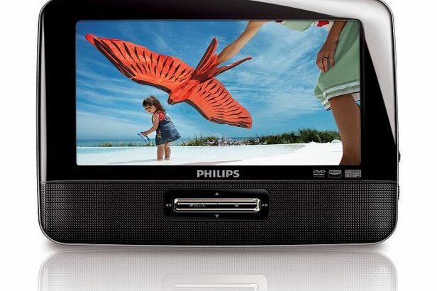 PHI PD7002 7`` Portable DVD Player with Car Adapter