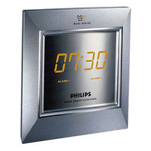 philips aj3230 clock radio review compare prices buy online. Black Bedroom Furniture Sets. Home Design Ideas