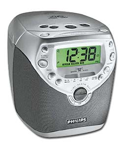 philips aj3950 clock radio review compare prices buy online. Black Bedroom Furniture Sets. Home Design Ideas
