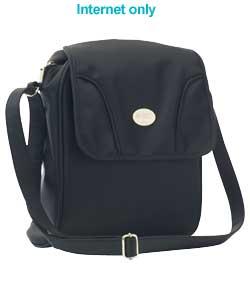 Стильная компактная сумка из легкой, прочной, легко моющейся ткани с...