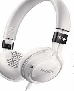 Philips CitiScape Frames Headband Headphones with Mic - White