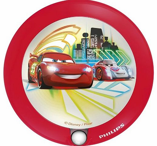 Disney Cars Childrens Sensor Night Light - 1 x 0.06 W Integrated LED