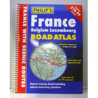 France and Belgium Atlas