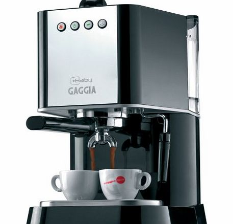 Gaggia Baby Coffee Maker Review : Philips Gaggia Baby 74820 Coffee Maker, Black - review, compare prices, buy online