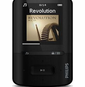Philips GoGear VIBE 4gb MP3/MP4 Player - Black