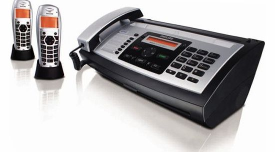 Philips Magic 5 Voice Inkfilm Fax With Two Additional Dect Handset