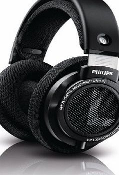 Philips SHP9500/00 Circumaural Head-band Black headphone - headphones (Circumaural, Head-band, 12 - 35000 Hz, Neodymium, Open, 3.5 mm (1/8``)   6.35 mm (1/4``))