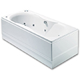 Bari 24 Jet Double Ended Luxury Whirlpool/Airpool Bath