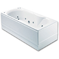 Como 12 Jet Single Ended Luxury Airpool Bath