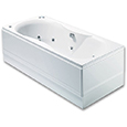 Ibiza 24 Jet Double Ended Luxury Whirlpool/Airpool Bath