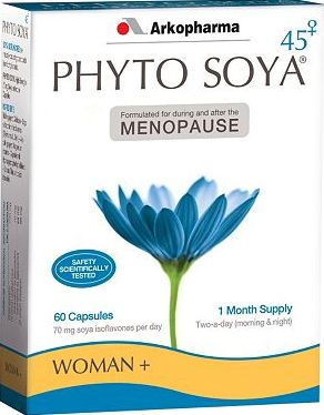 Phyto Soya, 2041[^]10066005 High Strength Menopause capsules - 60