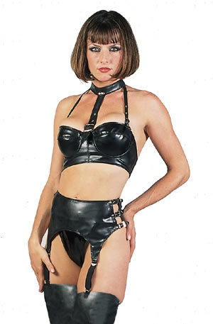 Clothing erotic rubber womens