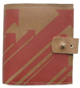 Pik & Pokket Arrows Screenprint Leather Wallet by product image
