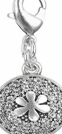 Pilgrim 560-443 Ladies Circle Charm Silver-Plated Crystal product image