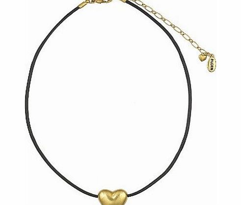 Pilgrim 609921 Neck Chain, Gold Plated, Black product image