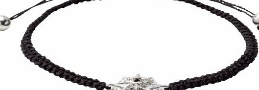 Pilgrim Jewelry Womens Bracelet Silver-Plated Brass with Crystals 17.0 CM Grey Starcross 191346102 product image